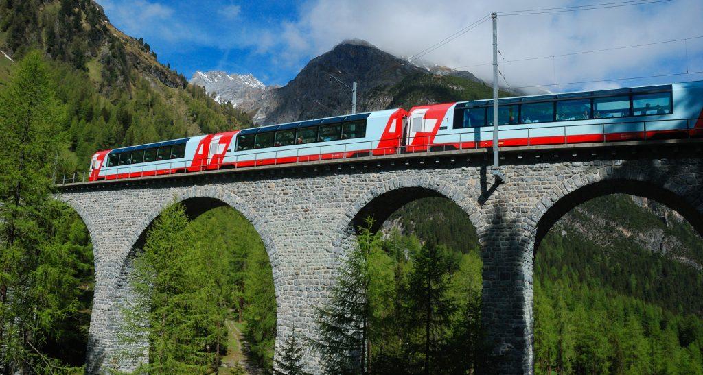 Eisenbahn Schweiz, Glacier Express