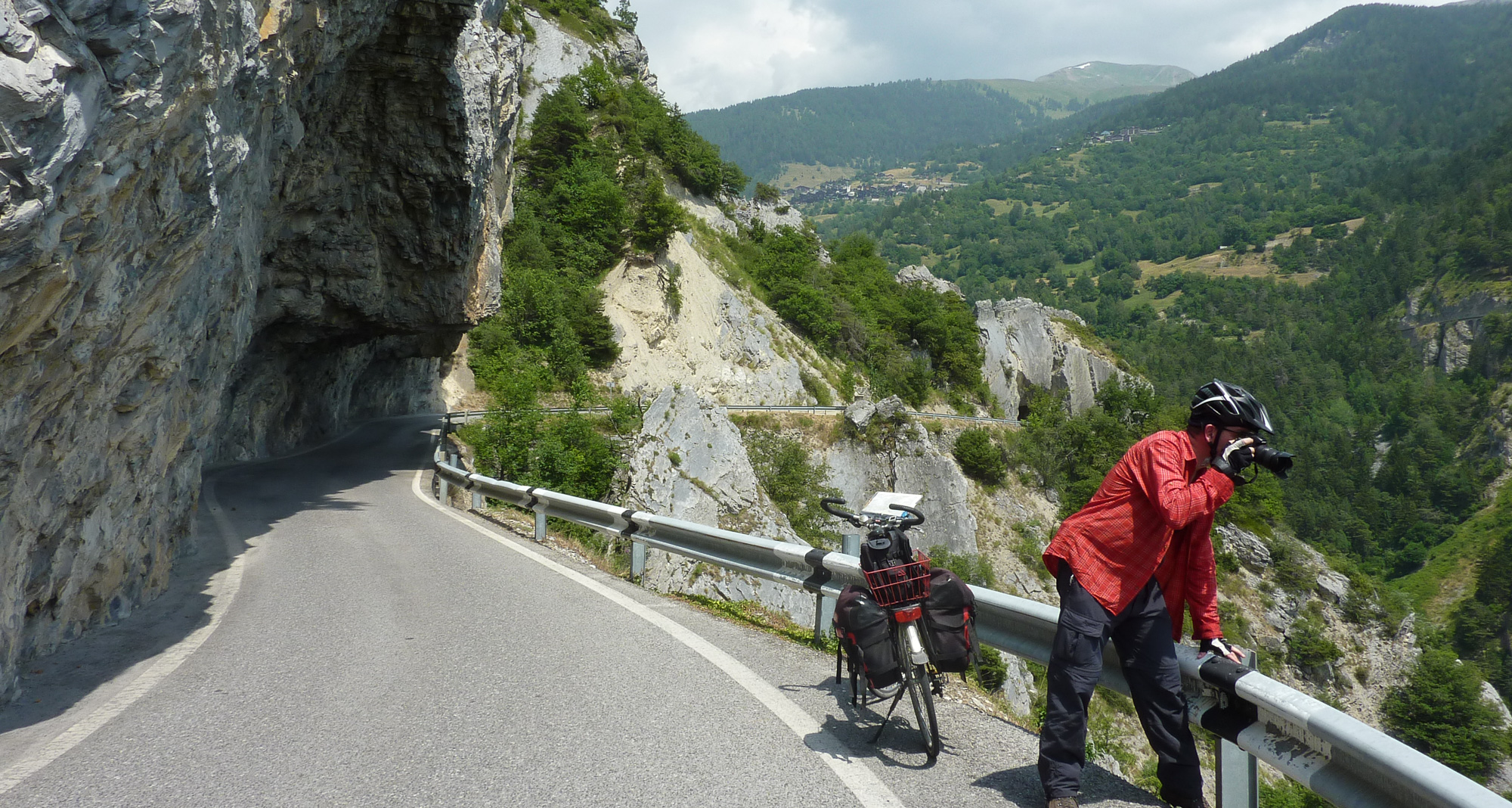 Fahrrad in der Schweiz, Varen - Leukerbad
