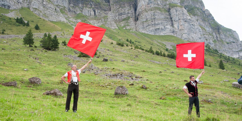 Schweizer Flagge, Schwägalp