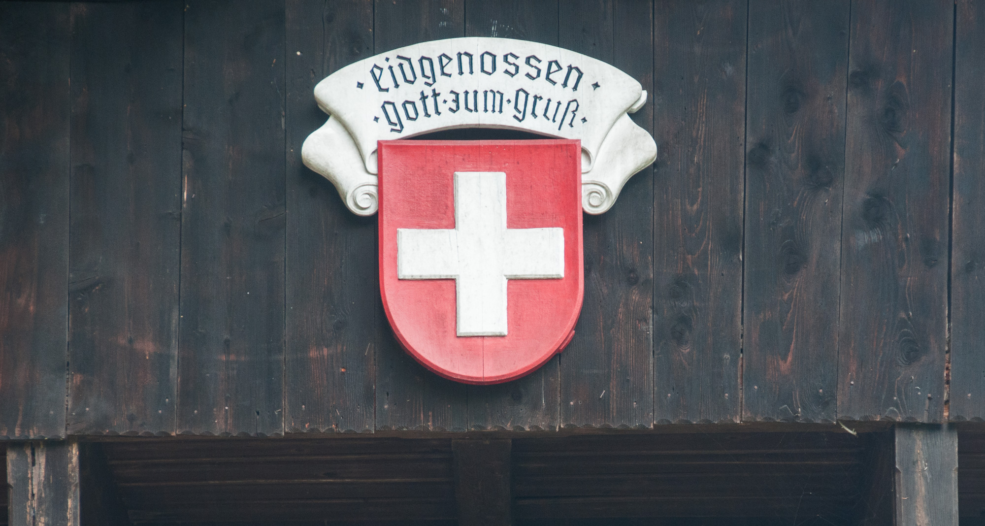 Schweizer Flagge, Rütliwiese