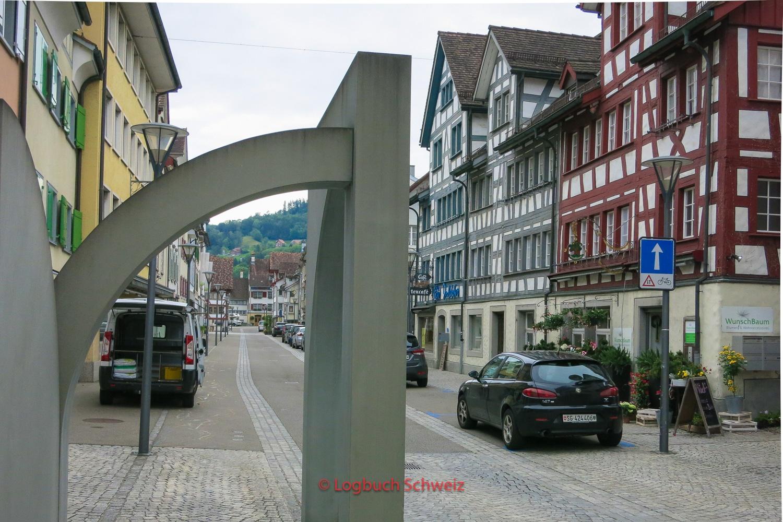 Bodenseeradweg Schweiz Rheineck