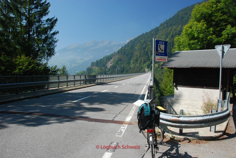 Col du Pillon mit dem Fahrrad