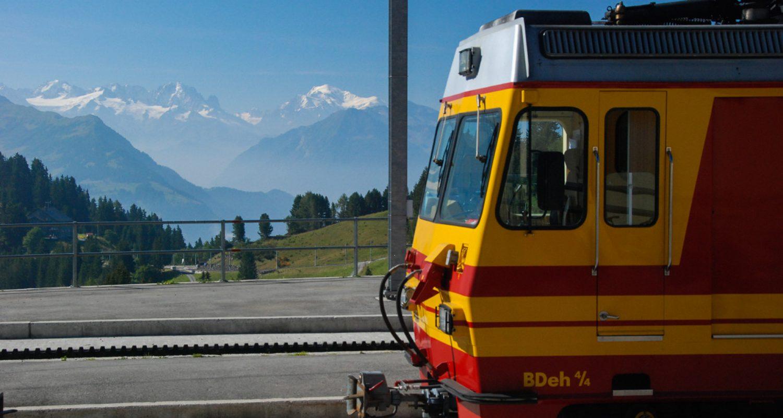 Bex-Villars-Bretaye Bahn