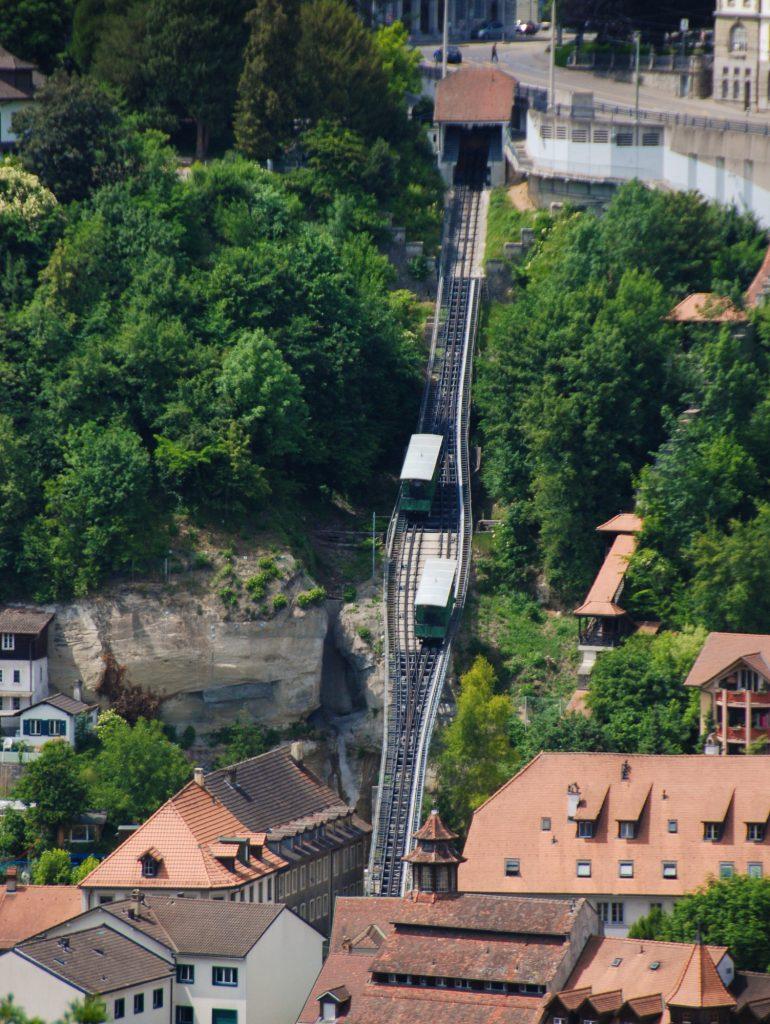 Fribourg Seilbahn
