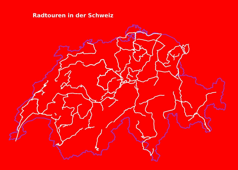 Schweiz mit dem Fahrrad