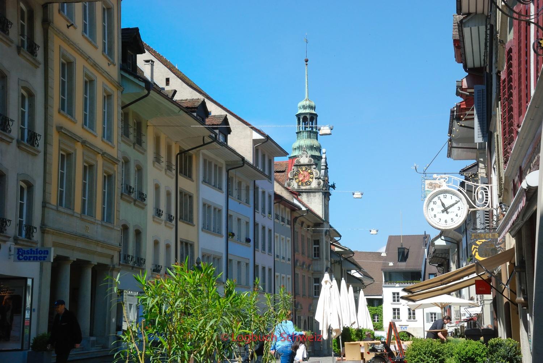 Lenzburg, mit dem Fahrrad ins Seetal
