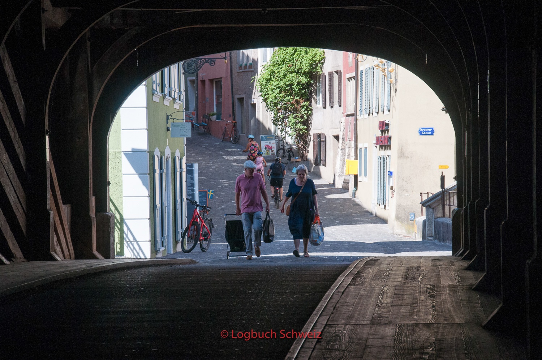 Stadt Baden mit dem Fahrrad ins Seetal
