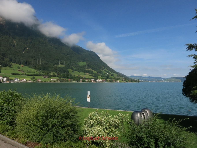 Zuger See mit dem Fahrrad