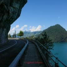 Vierwaldstätter See mit dem Fahrrad, Luzern Riviera