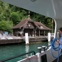 Vierwaldstätter See mit dem Fahrrad, Rütliwiese, Schifffahrt