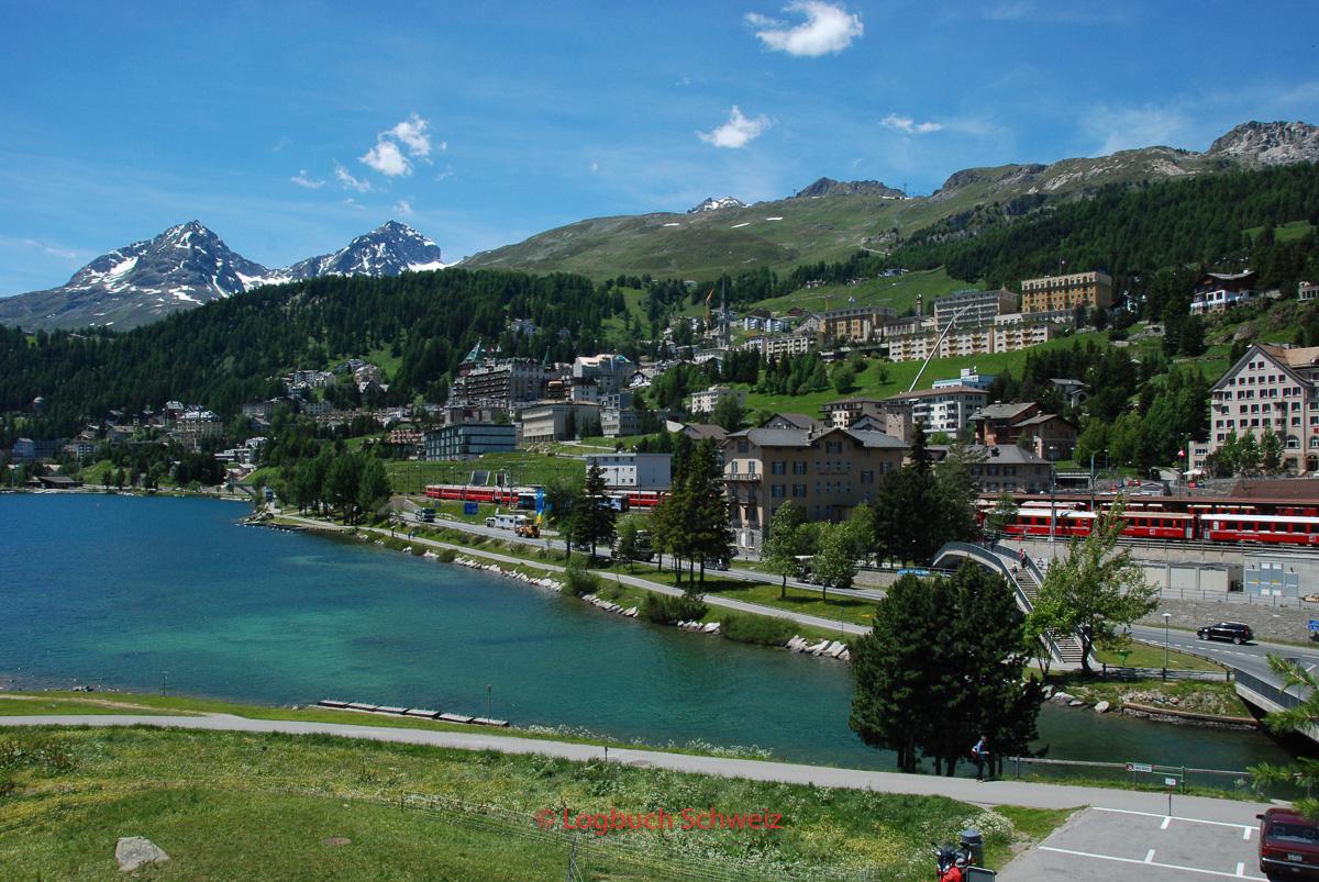 Glacier Express, St. Moritz