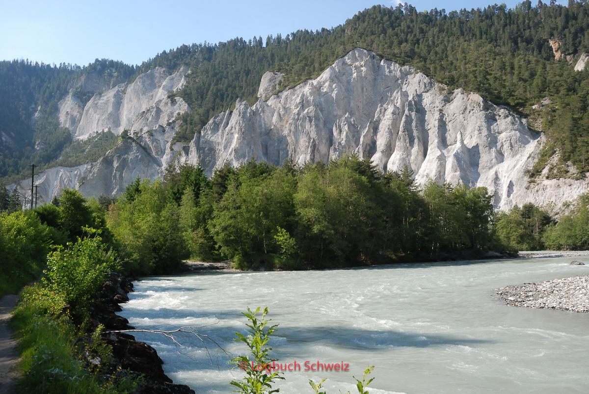 Glacier Express, Ruinaulta, Vorderrheinschlucht