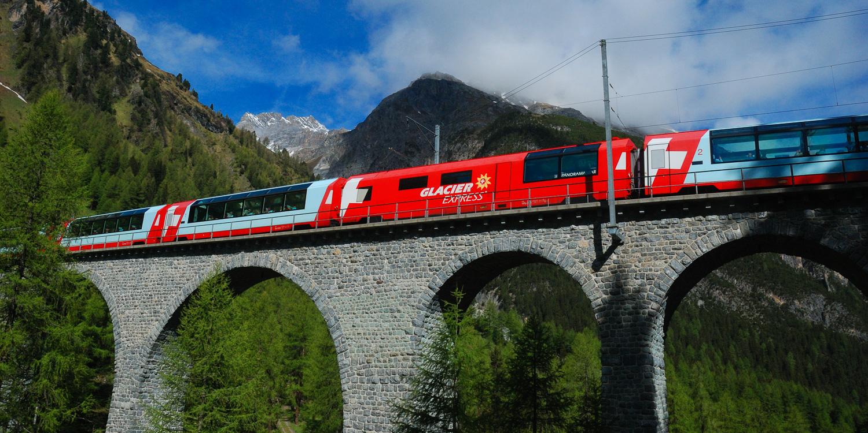 Glacier Express, Albula