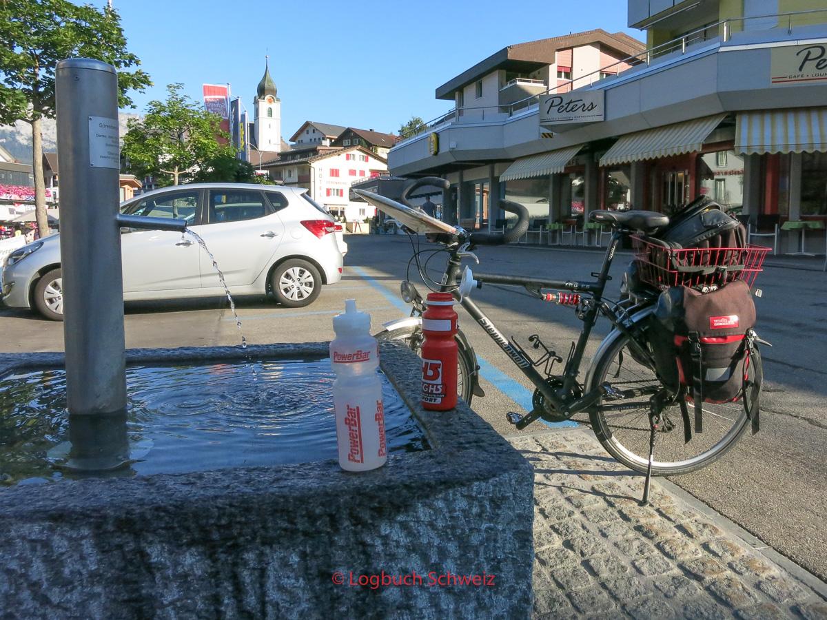 Glaubenbielenpass mit dem Fahrrad, Sörenberg