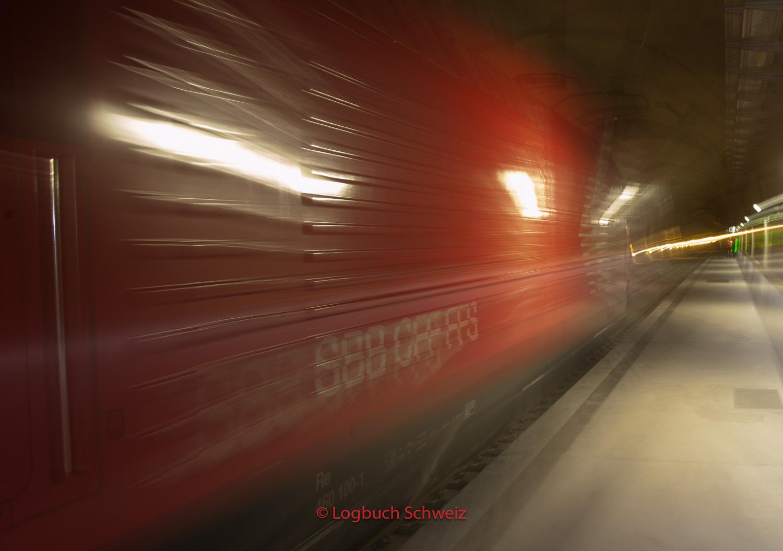 Gotthardpass - Eisenbahnbasistunnel