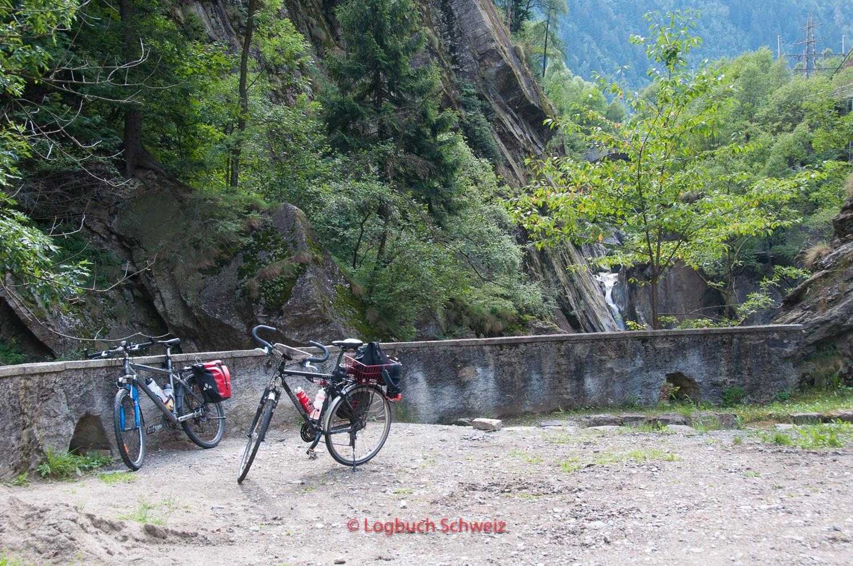 Gotthard Pass mit dem Fahrrad, Monte Piottino