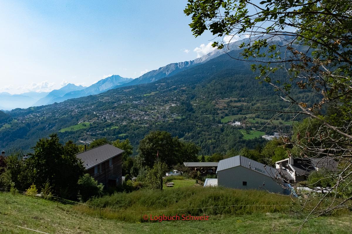Das Dorf Icogne