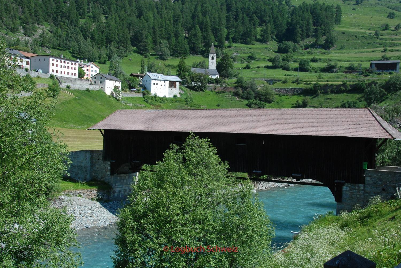 Engadin, Innbrücke