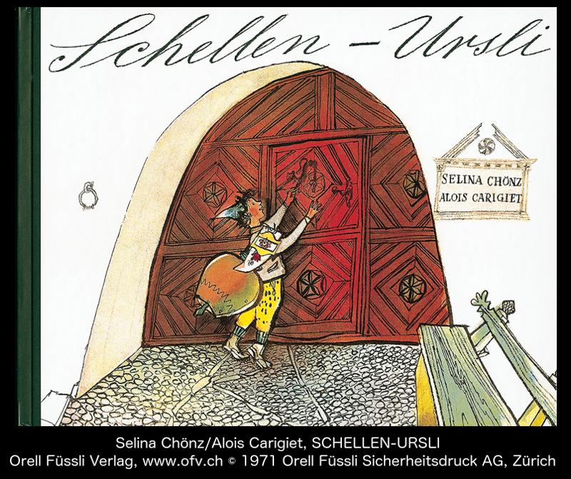 Guarda im Engadin, Schellen Ursli