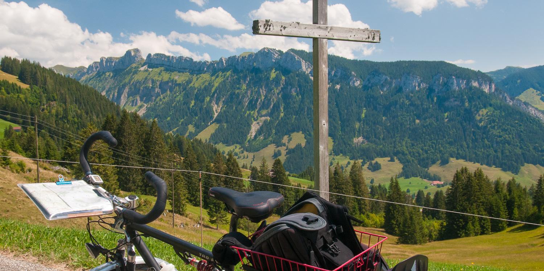 Hilferenpass mit dem Fahrrad