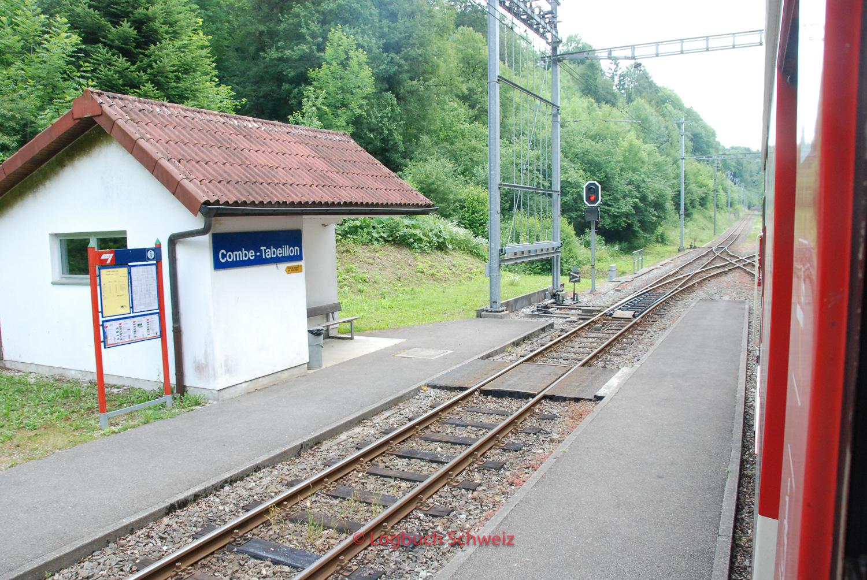 Jura Südfuß, Chemin de fer du Jura, Combe Tabeillon