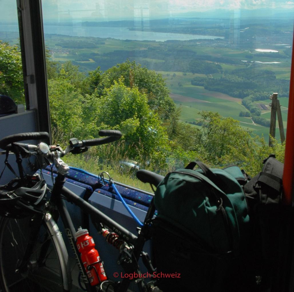 Jura Südfuß, Yverdon - St. Croix Bahn
