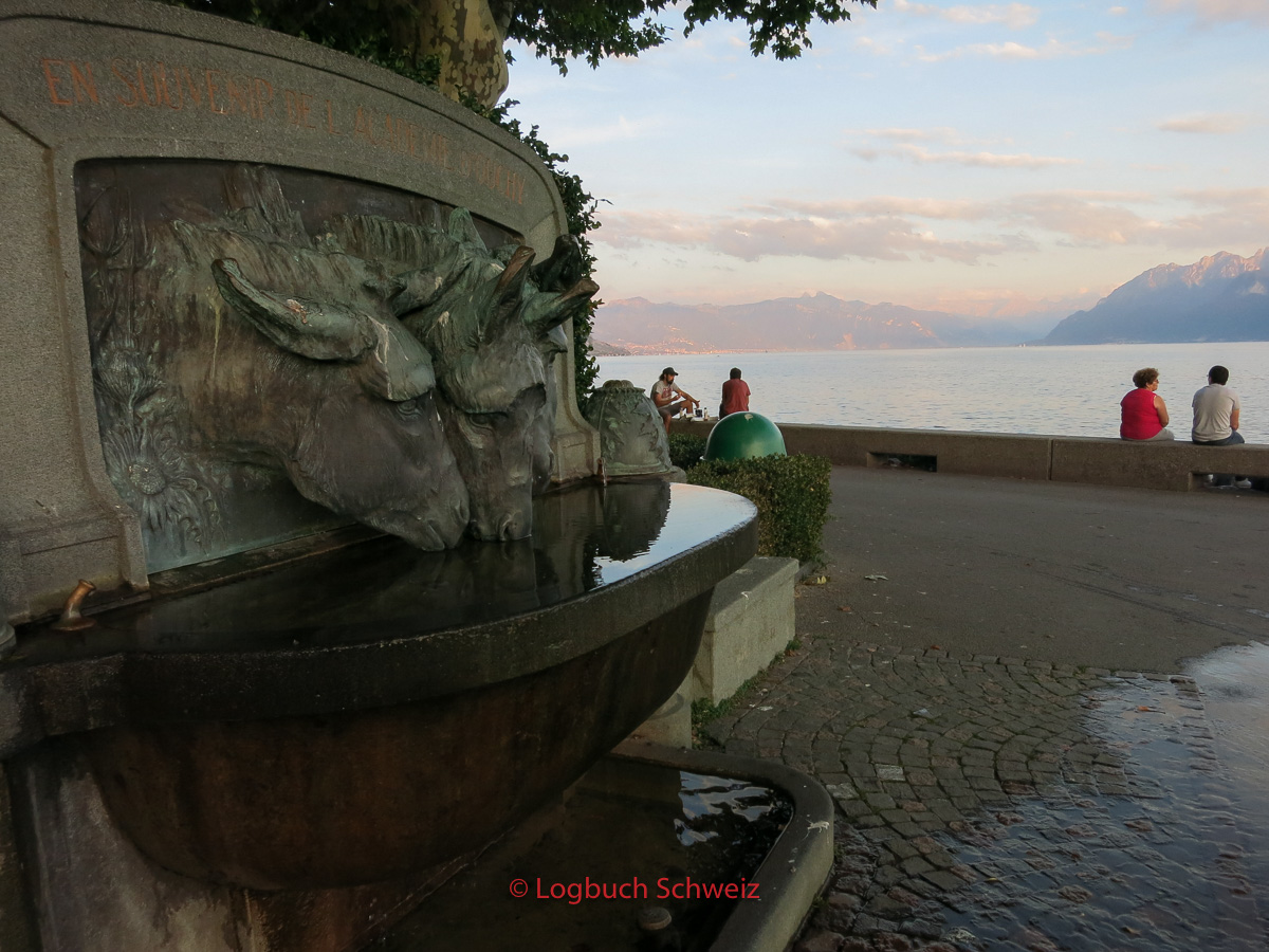 Lausanne am Genfer See