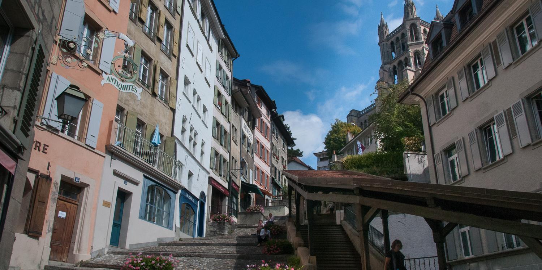 Lausanne Zentrum