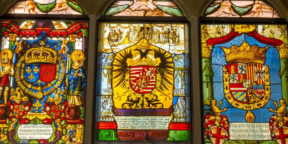 Im Kloster Muri ist die Grablege der Habsburger