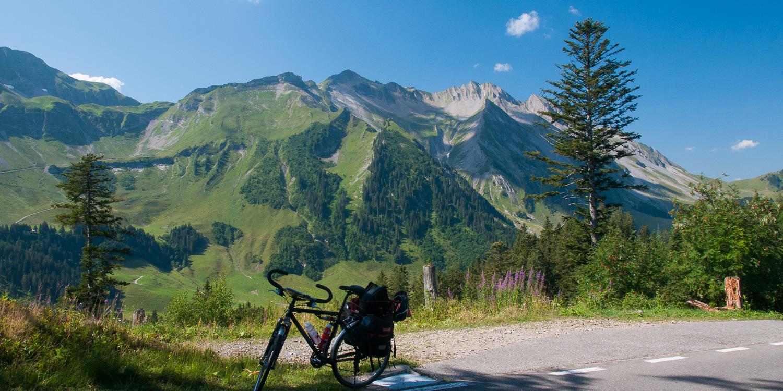 Glaubielenpass mit dem Fahrrad