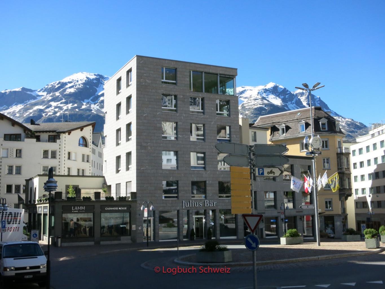 Engadin, Seenplatte St. Moritz