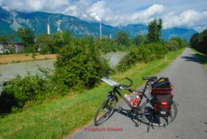 Rhone Fahrradtour