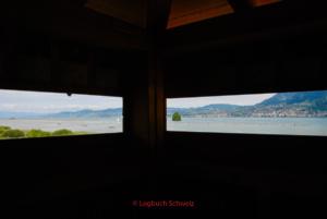 Rhone Fahrradtour, Genfer See