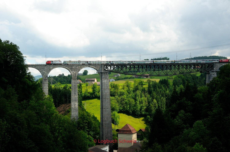 Sittertobel, Eisenbahnbrücke