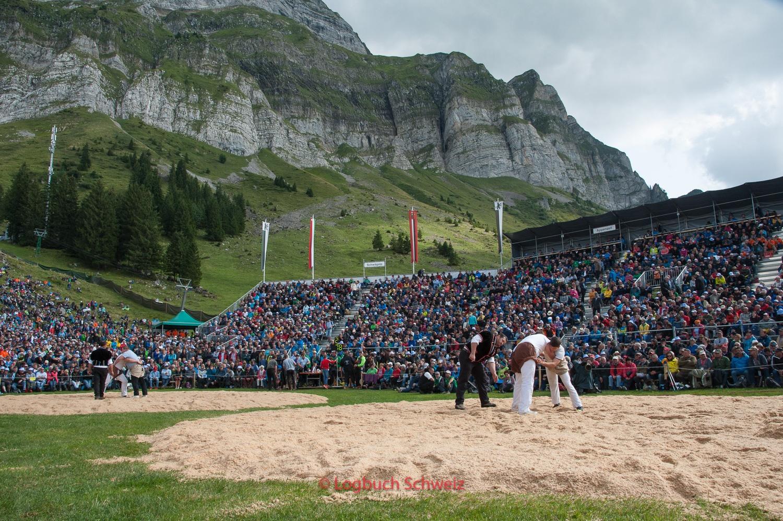 Schwingen, Schweizer Nationalsport, Schwägalp Schwinget