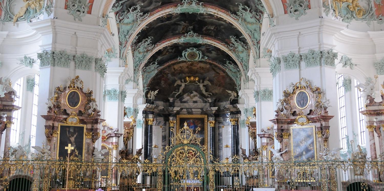St. Gallen, Stiftsbibliothek, Stiftskirche
