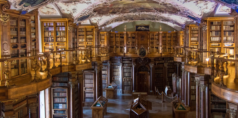 St. Gallen, Stiftsbibliothek, Stiftsbezirk