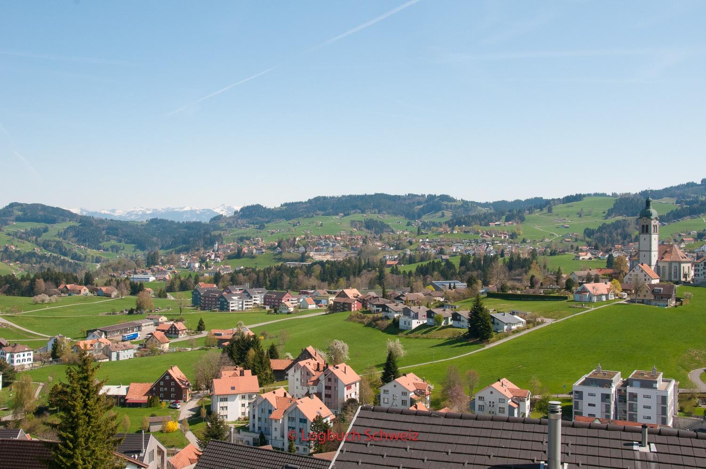 Appenzeller Bahn St. Gallen - Trogen, mit dem Fahrrad