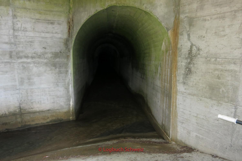 Die Suone führt durch einen neuen Tunnel