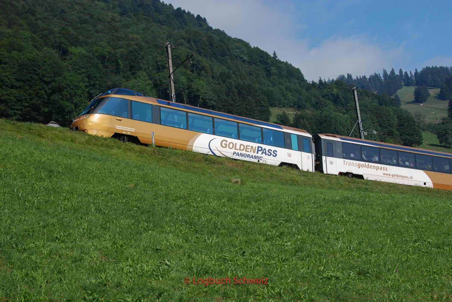 Golden Pass Bahn, Waadt