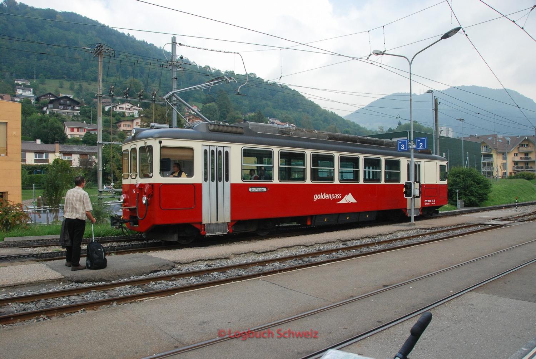 Vevey - Les Pléiades Bahn, Waadt