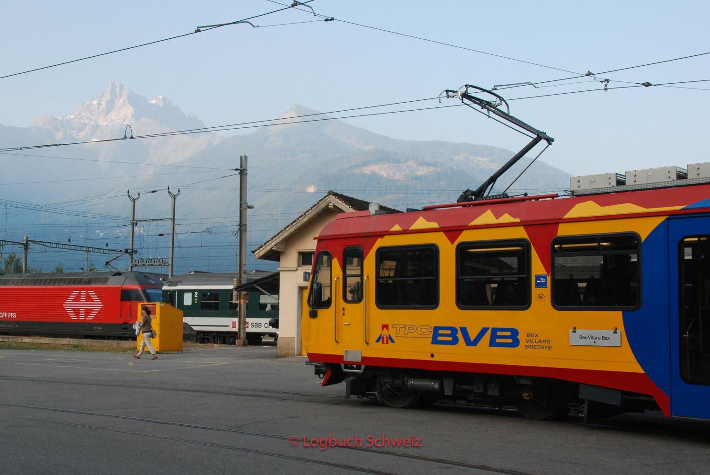 Bex–Villars–Bretaye-Bahn, Waadt