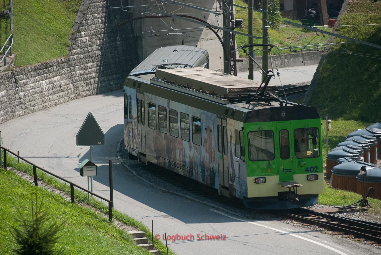 Aigle–Sépey–Diablerets-Bahn, Waadt