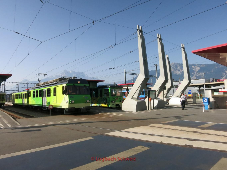 Aigle–Ollon–Monthey–Champéry-Bahn, Waadt