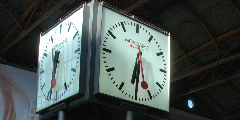 Schweizer Pünktlichkeit