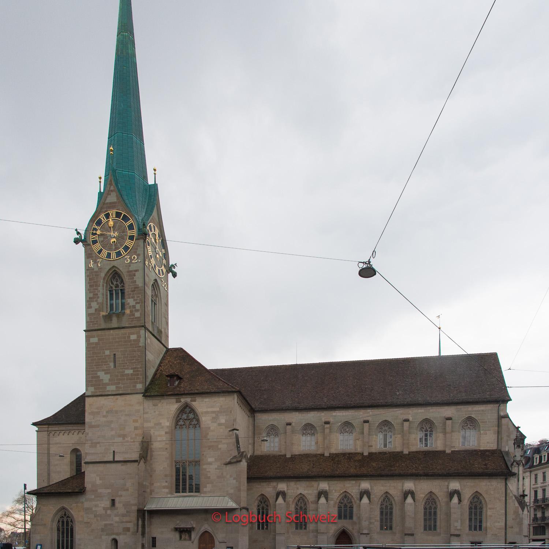 Das Fraumünster in Zürich